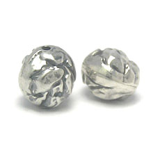 Bali Beads | Sterling Silver Silver Beads - Abstract Beads, Sterling Silver Abstract Bead