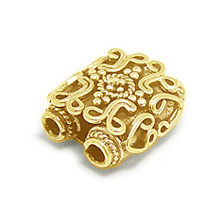 Bali Beads | Sterling Silver Vermeil-24k Gold Plated - Vermeil Connectors, 24K Gold Vermeil on Sterling Silver B2002V
