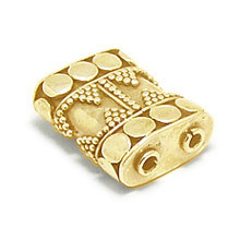 Bali Beads | Sterling Silver Vermeil-24k Gold Plated - Vermeil Connectors, 24K Gold Vermeil on Sterling Silver B2006V