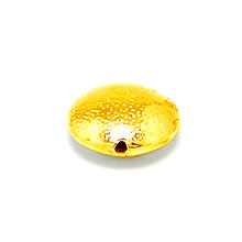 Bali Vermeil-24k Gold Plated - Vermeil Plain Beads