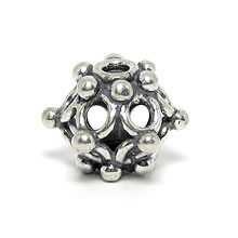 Bali Beads | Sterling Silver Silver Beads - Round Beads, Silver Beads B5016