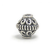 Bali Beads | Sterling Silver Silver Beads - Round Beads, Silver Beads B5018