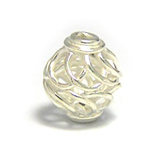 Bali Beads | Sterling Silver Silver Beads - Round Beads, Sterling Silver Beads - B5153