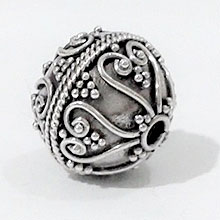Bali Beads | Sterling Silver Silver Beads - Round Beads, Round Bali silver beads - B5175