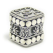 Bali Silver Beads - Square Beads