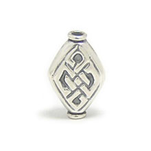 Bali Beads | Sterling Silver Silver Beads - Stamp Beads, Silver Beads B8010