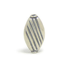 Bali Beads | Sterling Silver Silver Beads - Stamp Beads, Silver Beads B8011