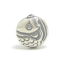 Bali Beads | Sterling Silver Silver Beads - Stamp Beads, Silver Beads B8042