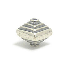 Bali Beads | Sterling Silver Silver Beads - Stamp Beads, Silver Beads B8062