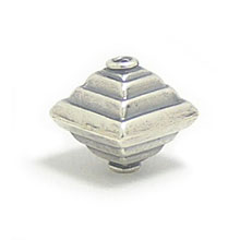 Bali Beads | Sterling Silver Silver Beads - Stamp Beads, Silver Beads B8063