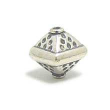 Bali Beads | Sterling Silver Silver Beads - Stamp Beads, Silver Beads B8068