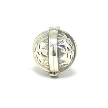 Bali Beads | Sterling Silver Silver Beads - Stamp Beads, Silver Beads B8110