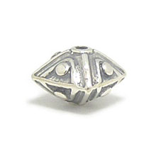 Bali Silver Beads - Stamp Beads