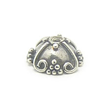 Bali Beads | Sterling Silver Silver Caps - Ornate Caps, Silver Beads C3004