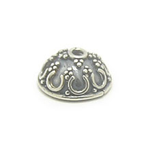 Bali Beads | Sterling Silver Silver Caps - Ornate Caps, Silver Beads C3007