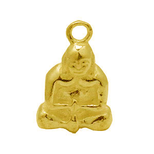 Bali Beads | Sterling Silver Vermeil-24k Gold Plated - Findings, Wholesale Vermeil charms and Dangles