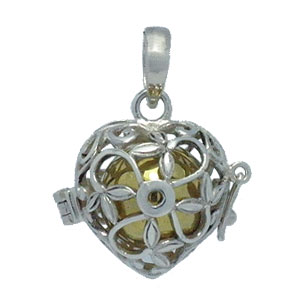 Bali Beads | Sterling Silver Silver Jewelry - Harmony Balls, Sterling silver harmony ball with brass