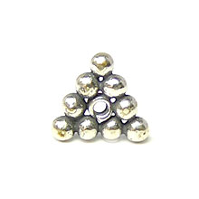 Bali Beads | Sterling Silver Silver Spacers - Flat Spacers, Silver Beads S1010