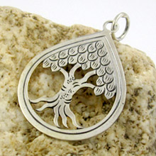Bali Beads | Sterling Silver Silver Jewelry - Silver Pendants, Bali handmade sterling silver pendant